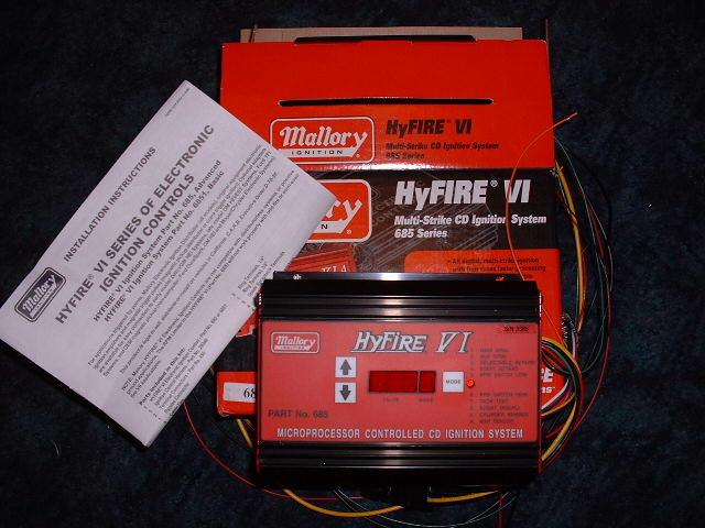mallory hyfire mal685 ignition multi strike ignition control unit